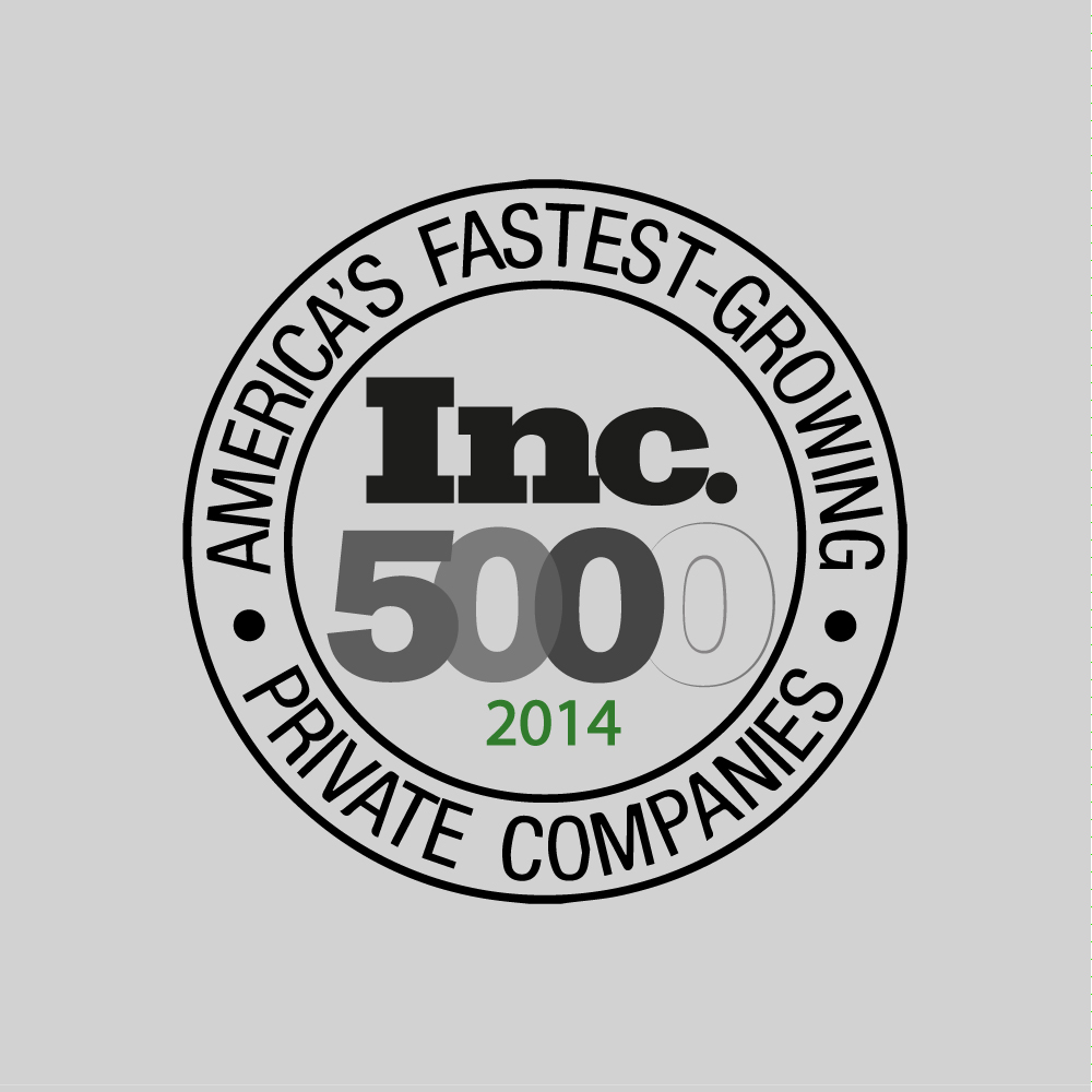 Inc. 5000 Fastest Growing Companies, Inc. 5000, 2014
