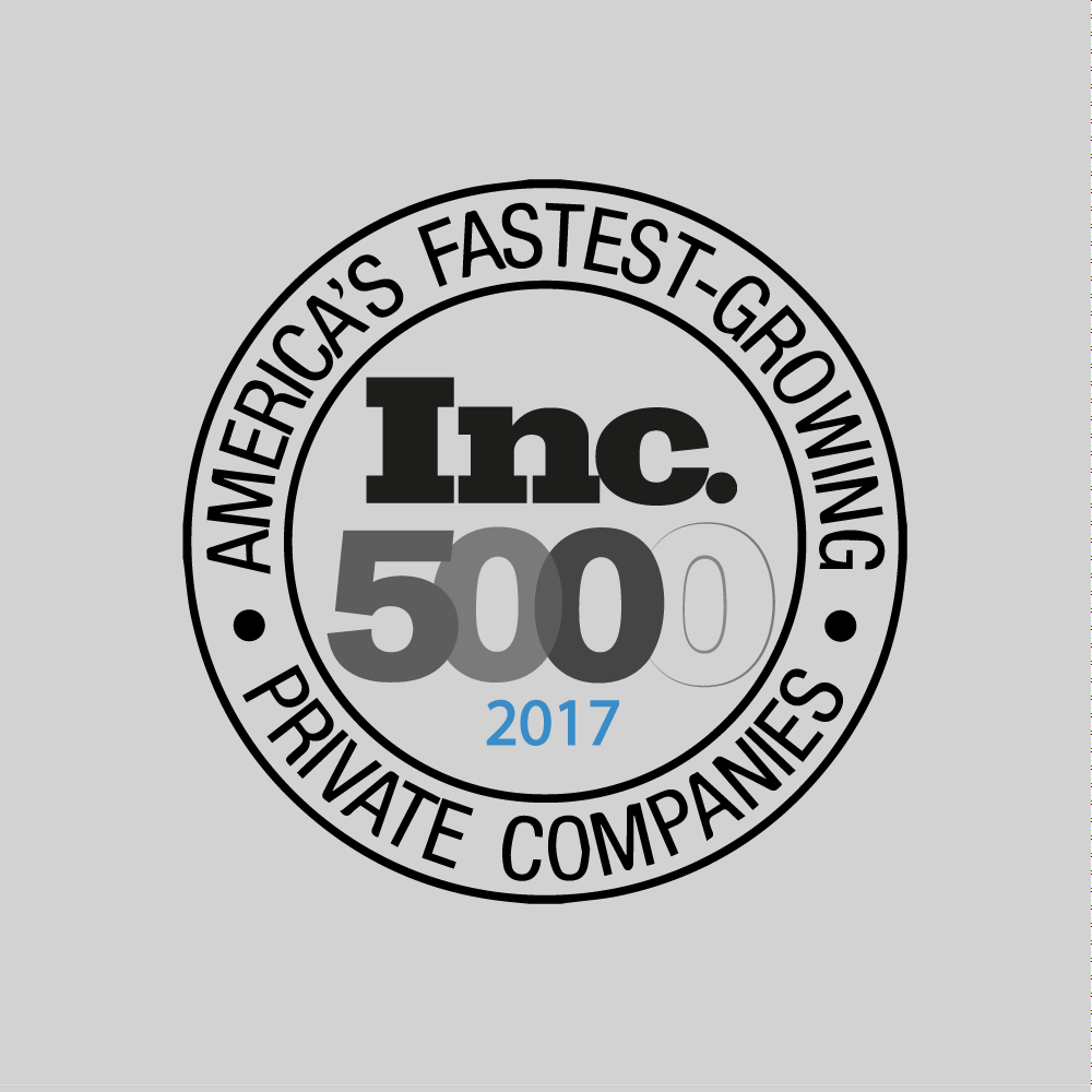 Inc. 5000 Fastest Growing Companies, Inc. 5000, 2017